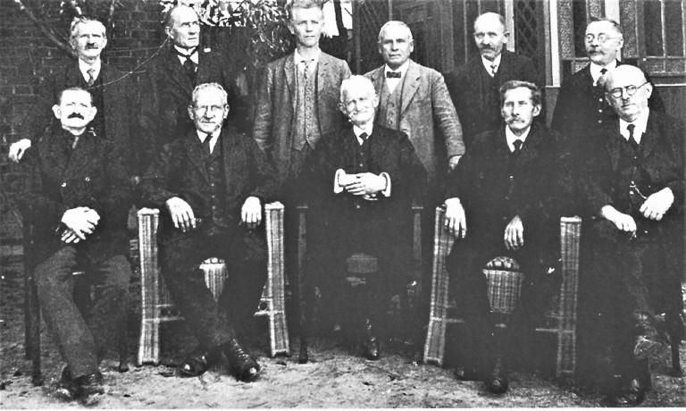 Mitglieder aus der Frühzeit SPD-Ortsverein-Schney